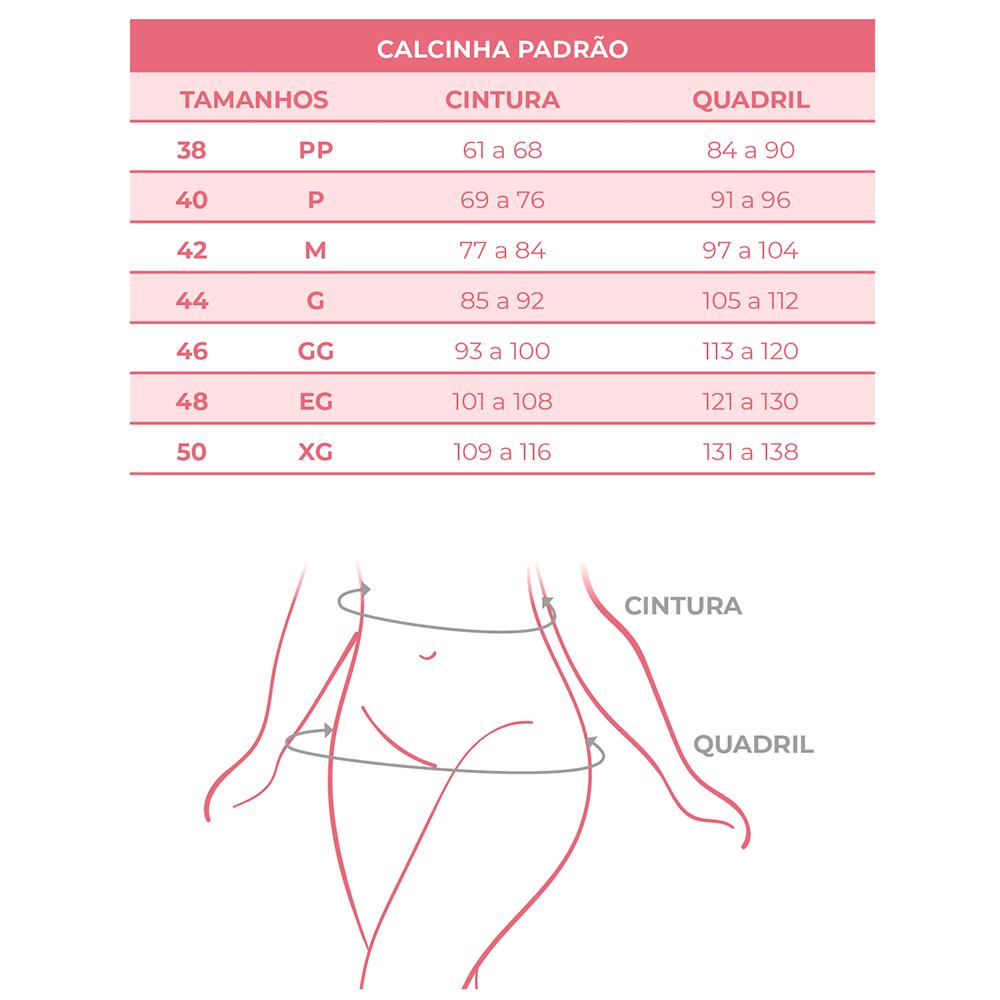 Calcinha Modeladora Média Compressão Anatomic