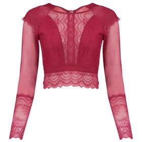 603826-Top-Cropped-Manga-Longa-Moonlight-red-velvet-frente
